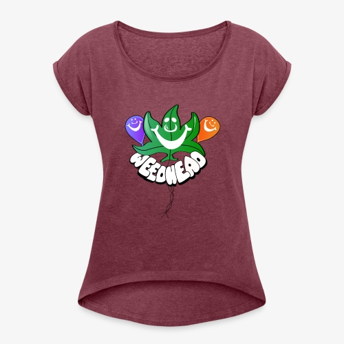 Weedhead - Women's Roll Cuff T-Shirt