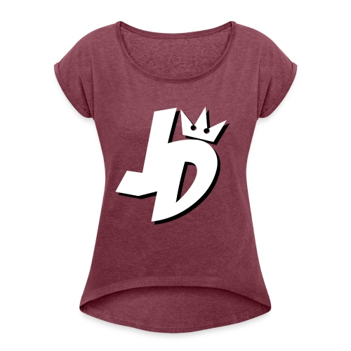 JDMerch - Women's Roll Cuff T-Shirt