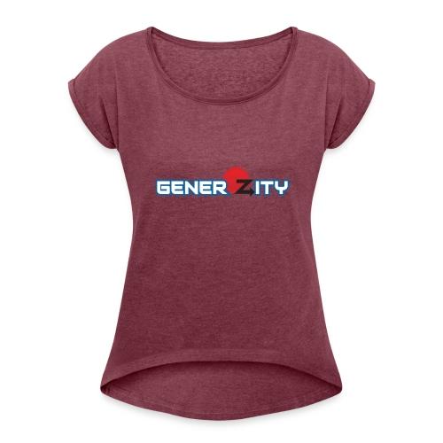 GenerOZity - Women's Roll Cuff T-Shirt