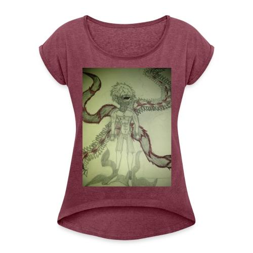 DRAGONS OG - Women's Roll Cuff T-Shirt