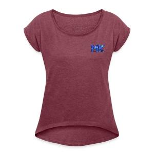 Moba King - Women's Roll Cuff T-Shirt