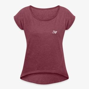 Skyz Signature - Women's Roll Cuff T-Shirt