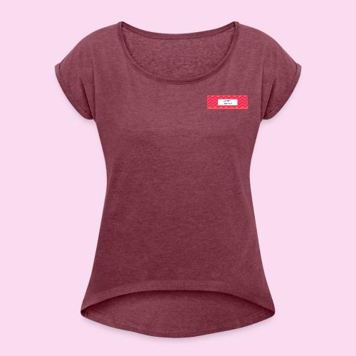 COMFY QUEEN APPAREL - Women's Roll Cuff T-Shirt