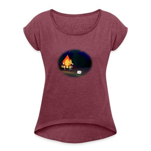 'Round the Campfire - Women's Roll Cuff T-Shirt
