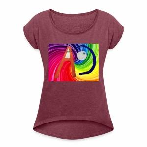 Ashtons channel - Women's Roll Cuff T-Shirt