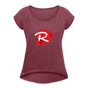 Rybelian Logo - Women's Roll Cuff T-Shirt