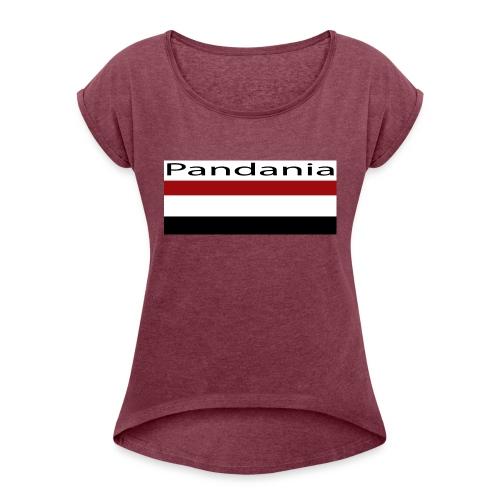 PandanianMilitary - Women's Roll Cuff T-Shirt