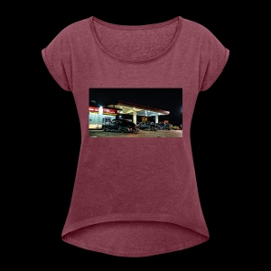 F2113954 469B 407D B721 BB0A78AA75C8 - Women's Roll Cuff T-Shirt