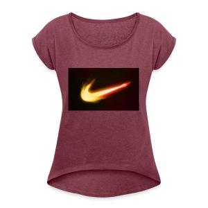 cool shirt - Women's Roll Cuff T-Shirt