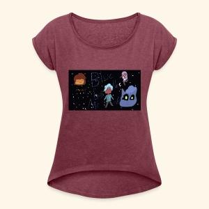 The Blu MERCH - Women's Roll Cuff T-Shirt