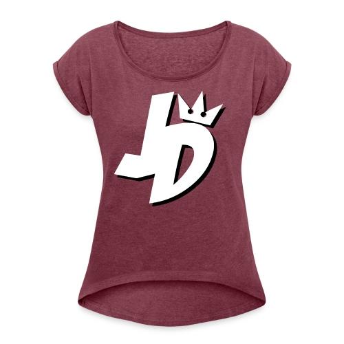 JDMerch - Women's Roll Cuff T-Shirt