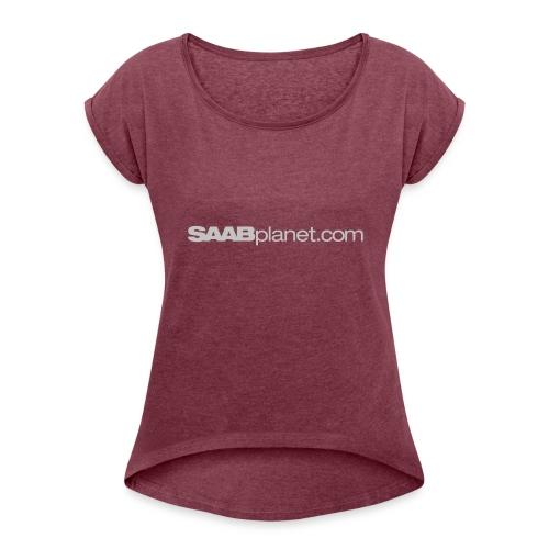 Saab - Women's Roll Cuff T-Shirt