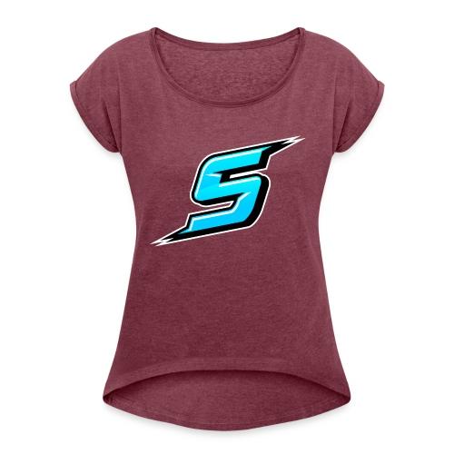 Sniper - Women's Roll Cuff T-Shirt