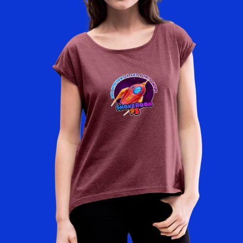 93 ROCKET - Women's Roll Cuff T-Shirt