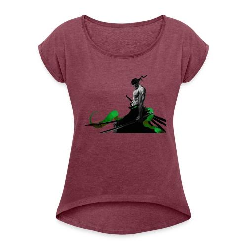 Roronoa Zoro - Women's Roll Cuff T-Shirt