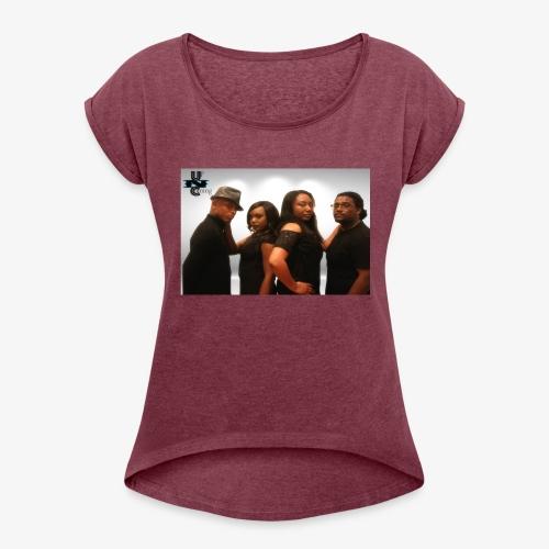 UNCH Cast - Women's Roll Cuff T-Shirt