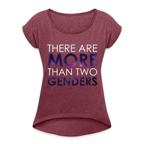 TRIGGERED - Women's Roll Cuff T-Shirt