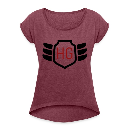 Humanity - Women's Roll Cuff T-Shirt