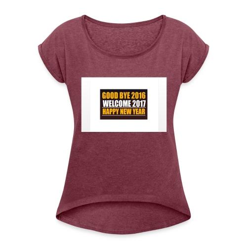 2017 - Women's Roll Cuff T-Shirt