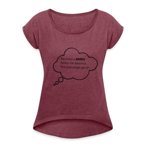Scan_2 - Women's Roll Cuff T-Shirt