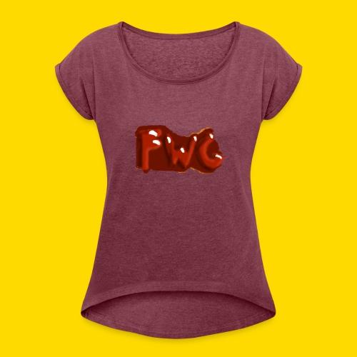 FWG Logo - Women's Roll Cuff T-Shirt