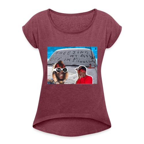Lil Yachty - Minnesota - Women's Roll Cuff T-Shirt