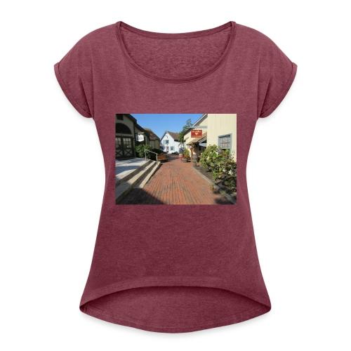 Historic Village - Women's Roll Cuff T-Shirt