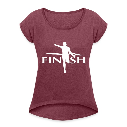 AC - Finish - Women's Roll Cuff T-Shirt