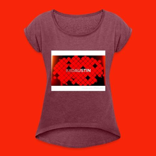 Kiid Austin - Women's Roll Cuff T-Shirt