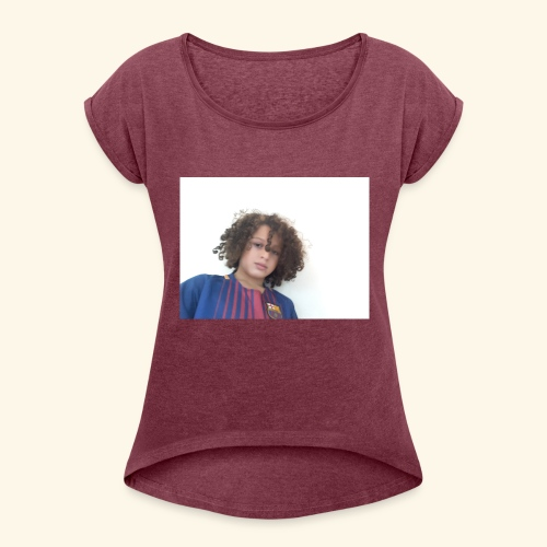 ALI'S WORLD VLOGS - Women's Roll Cuff T-Shirt