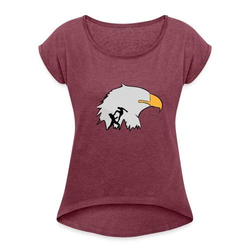 FAN LAK SHIRTS - Women's Roll Cuff T-Shirt