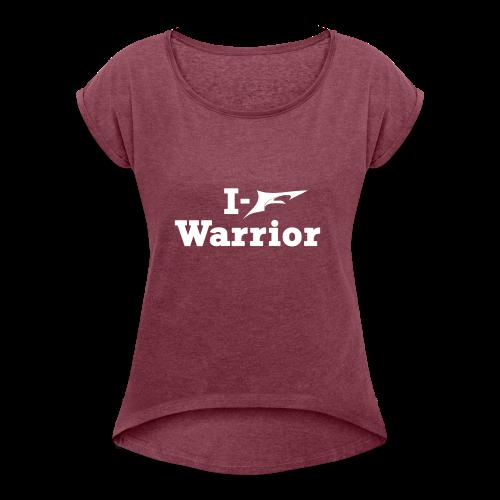 Fledge Fitness Sports gear - Women's Roll Cuff T-Shirt
