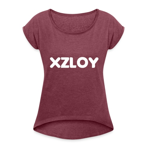 Xzloy - Women's Roll Cuff T-Shirt