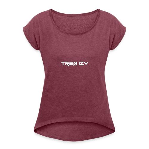 TreS IzY - Women's Roll Cuff T-Shirt