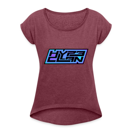 HYP3 Clan - Women's Roll Cuff T-Shirt