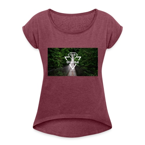 Divine - Women's Roll Cuff T-Shirt
