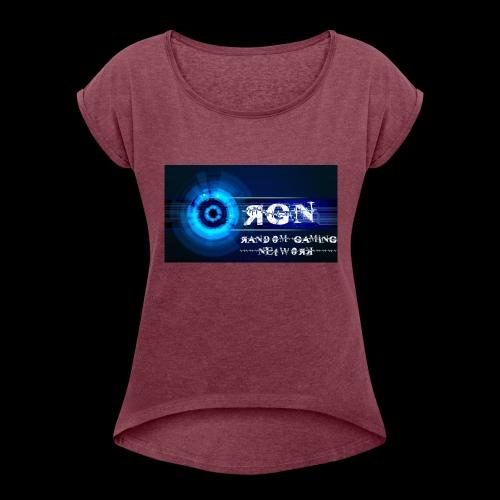 RGN partner gear - Women's Roll Cuff T-Shirt