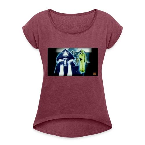 The Beast - Women's Roll Cuff T-Shirt