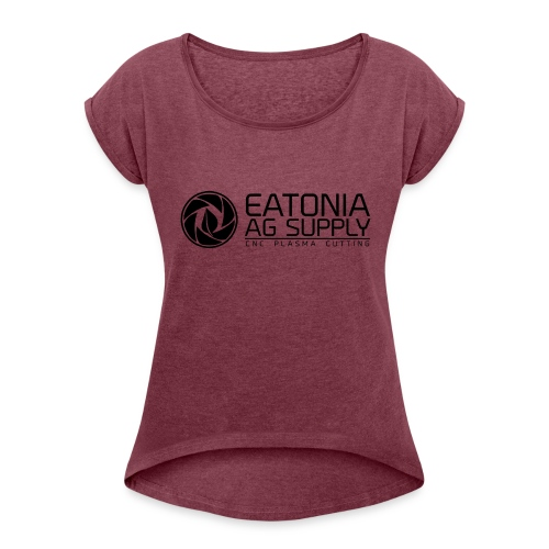 EAS CNC 2 - Women's Roll Cuff T-Shirt