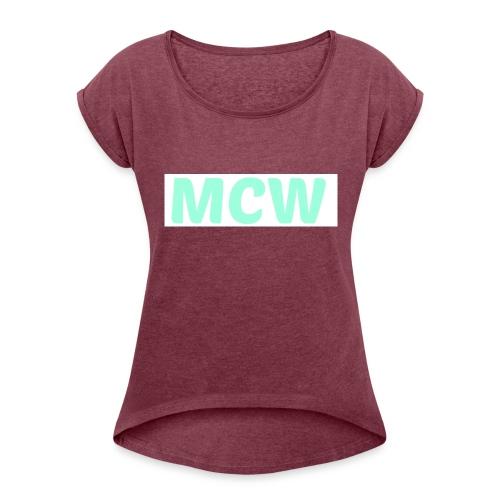 MCW - Women's Roll Cuff T-Shirt