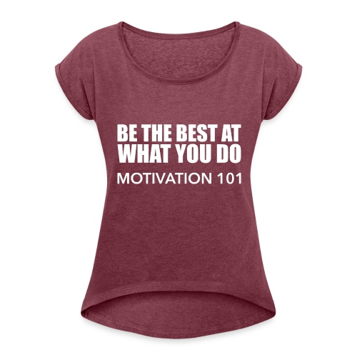 BEST-BLANC - Women's Roll Cuff T-Shirt