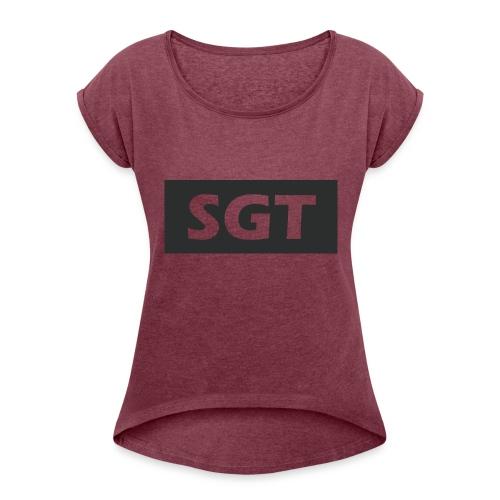 Logo - Women's Roll Cuff T-Shirt