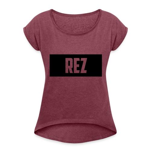 NEW_DESIGN_SHIRT - Women's Roll Cuff T-Shirt