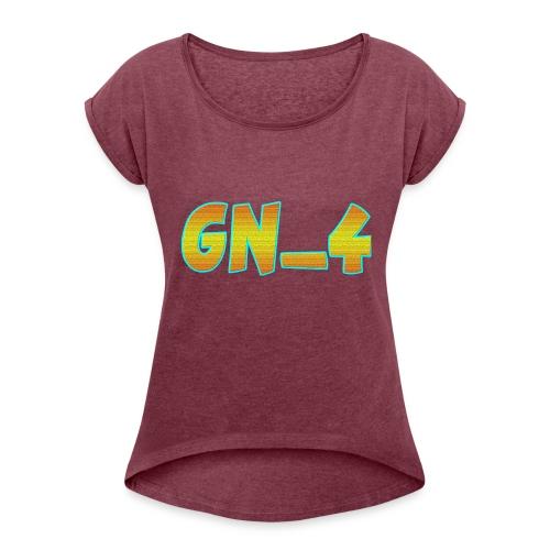 GamingNerd_4 - Women's Roll Cuff T-Shirt