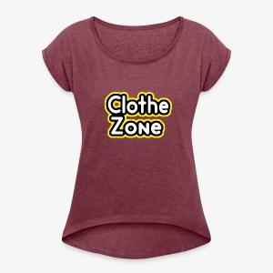 Clothe Zone - Women's Roll Cuff T-Shirt
