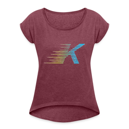 Speedy K - Women's Roll Cuff T-Shirt