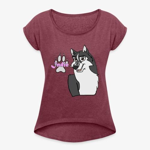 Indie - Women's Roll Cuff T-Shirt