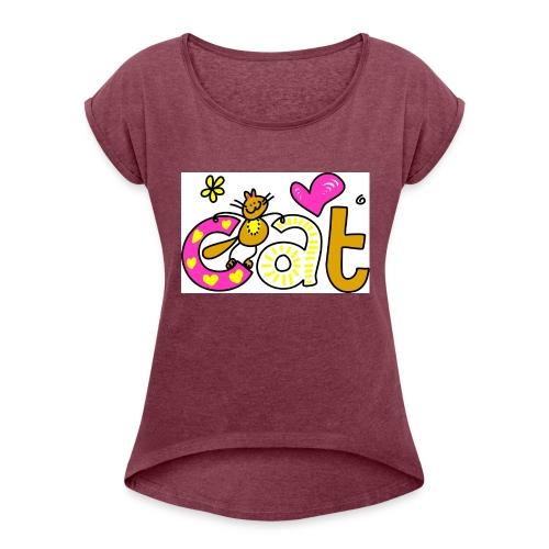 cat 1 - Women's Roll Cuff T-Shirt