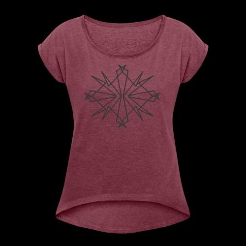 Chaotic - Women's Roll Cuff T-Shirt