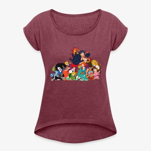 Zou! - Women's Roll Cuff T-Shirt